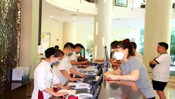 Nhiều khách sạn, resort đăng ký làm nơi cách ly phòng dịch.