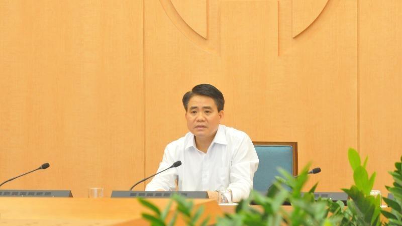 """Chủ tịch Hà Nội trực tiếp khảo sát nhiều trường hợp liên quan """"ổ dịch"""" Bệnh viện Bạch Mai"""