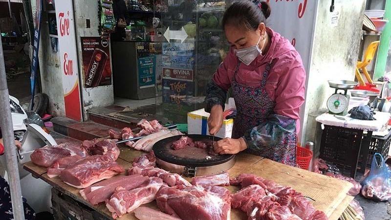 Hà Nội đã có một số doanh nghiệp đồng hành bình ổn giá thịt lợn