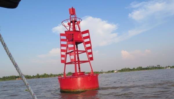 Cảnh báo, chỉ dẫn tàu thuyền với ứng dụng báo hiệu điện tử