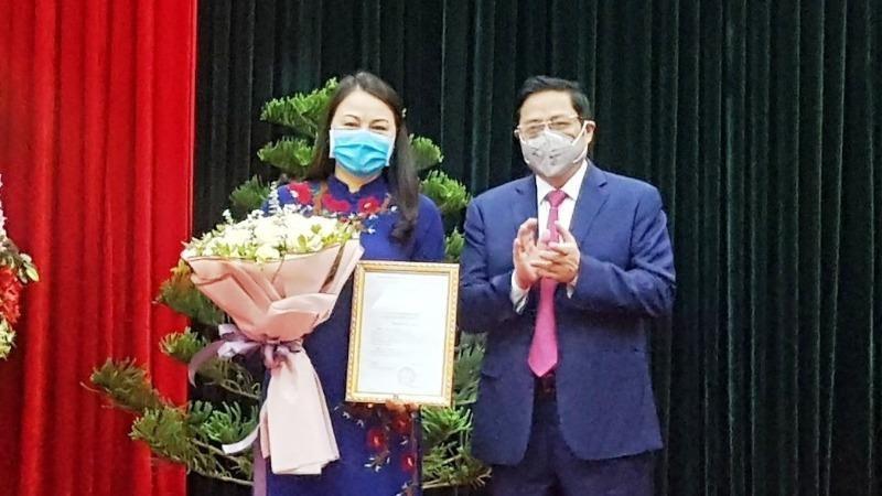 Chủ tịch Hội Liên hiệp Phụ nữ Việt Nam được điều động giữ chức Bí thư Tỉnh ủy Ninh Bình
