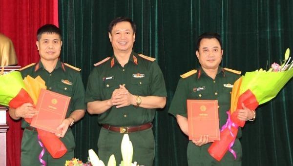 Bổ nhiệm lãnh đạo hai cấp Tòa án Quân sự Quân khu 1