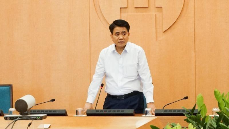 Chủ tịch UBND TP Nguyễn Đức Chung.