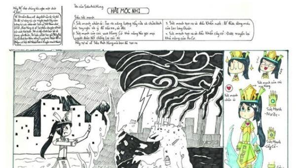 Kịch bản Hải Mộc Nhi của em Gia Hân.