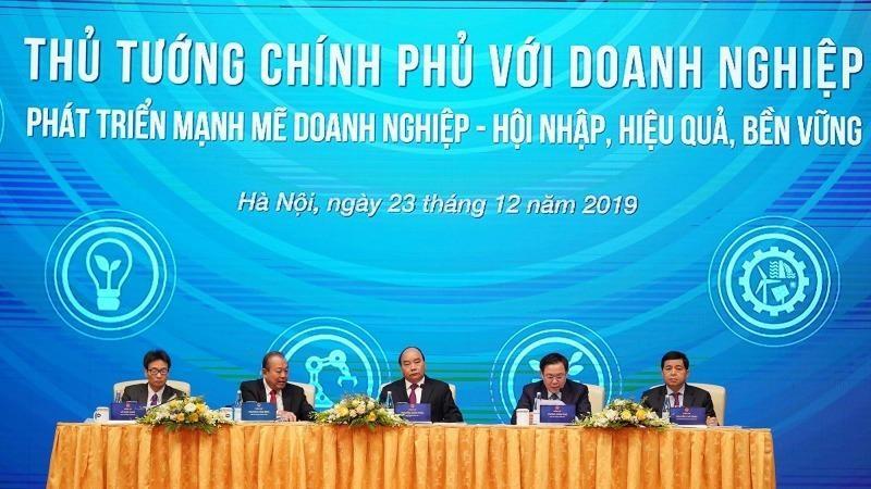 Hội nghị Thủ tướng Chính phủ với doanh nghiệp năm 2019.
