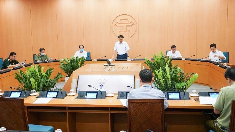 Những phiên họp Ban Chỉ đạo phòng chống dịch Covid-19 TP Hà Nội sẽ giảm còn 3-4 ngày/lần