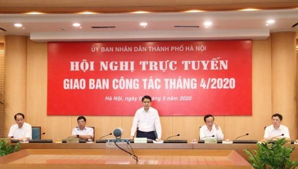 Chủ tịch UBND TP Hà Nội Nguyễn Đức Chung.