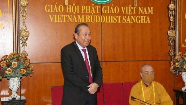 Đạo Phật với tinh thần nhập thế luôn có cống hiến xứng đáng cho đất nước, dân tộc