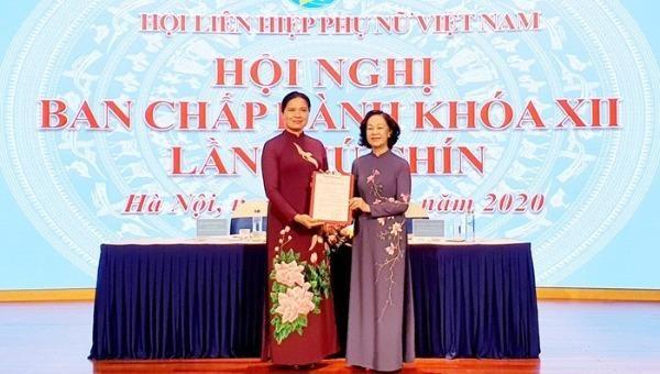 Hội Liên hiệp Phụ nữ Việt Nam bầu Chủ tịch khóa XII, nhiệm kỳ 2017-2022