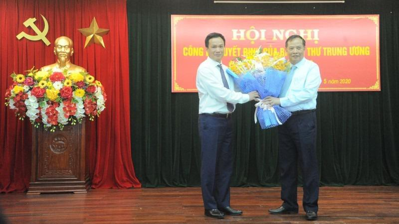Ông Triệu Thế Hùng làm Phó Bí thư Tỉnh ủy  Hải Dương