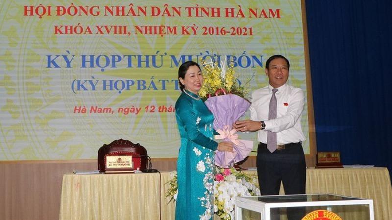 Giám đốc Sở Giáo dục và Đào tạo trúng cử Phó Chủ tịch UBND tỉnh Hà Nam