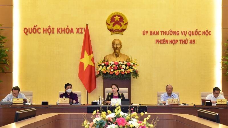 Phiên họp Ủy ban Thường vụ Quốc hội ngày 15/5.