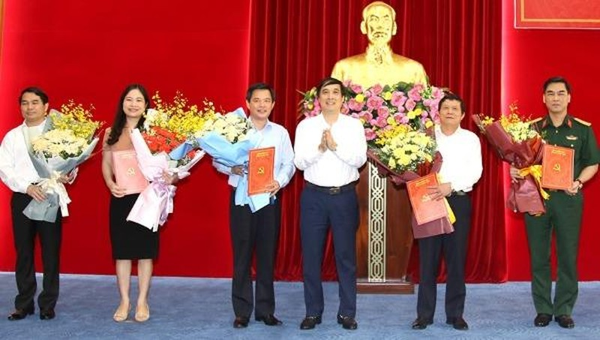 Chỉ định 5 Ủy viên Ban Chấp hành Đảng bộ tỉnh Phú Thọ