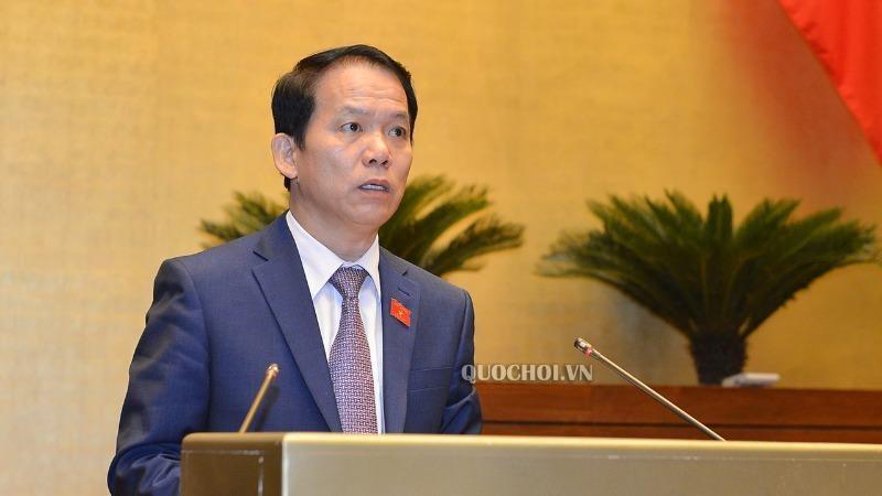 Chủ nhiệm Ủy ban Pháp luật Hoàng Thanh Tùng.