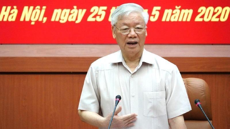 Tổng Bí thư, Chủ tịch nước phát biểu tại Hội nghị.