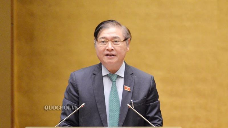 Chủ nhiệm Ủy ban Khoa học, Công nghệ và Môi trường Phan Xuân Dũng. (Ảnh: Quochoi.vn).