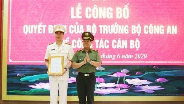 Bổ nhiệm thêm Phó Giám đốc Công an tỉnh Nghệ An, Đồng Nai