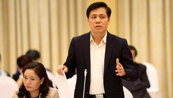 Thứ trưởng Bộ Giao thông Vận tải Nguyễn Ngọc Đông.