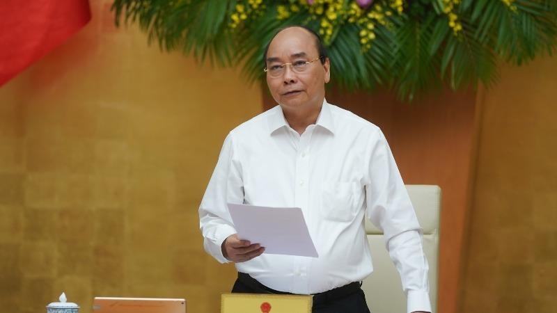 Thủ tướng Nguyễn Xuân Phúc khai mạc phiên họp.