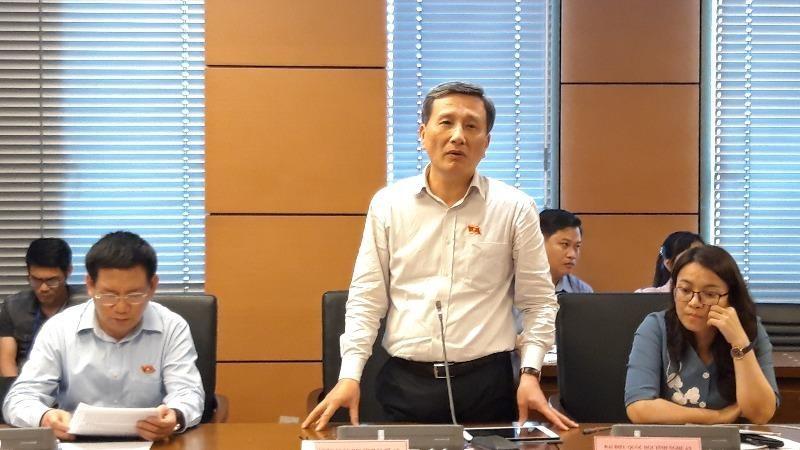 Đại biểu Lê Quang Huy đề nghị làm rõ phá dỡ hay tháo dỡ công trình vi phạm.