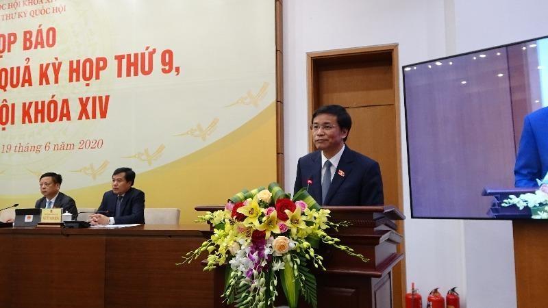 Ủy ban Thường vụ Quốc hội sẽ thông tin đến báo chí về vụ án Hồ Duy Hải