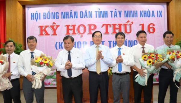 Bầu bổ sung Phó Chủ tịch HĐND, Phó Chủ tịch UBND tỉnh Tây Ninh