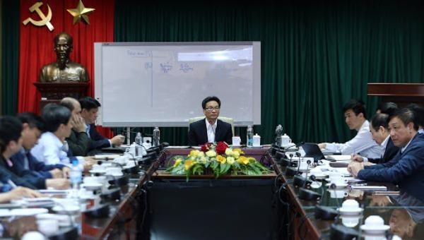Một cuộc họp Ban Chỉ đạo quốc gia phòng chống dịch bệnh Covid-19