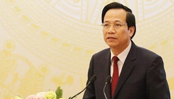 Bộ trưởng Đào Ngọc Dung