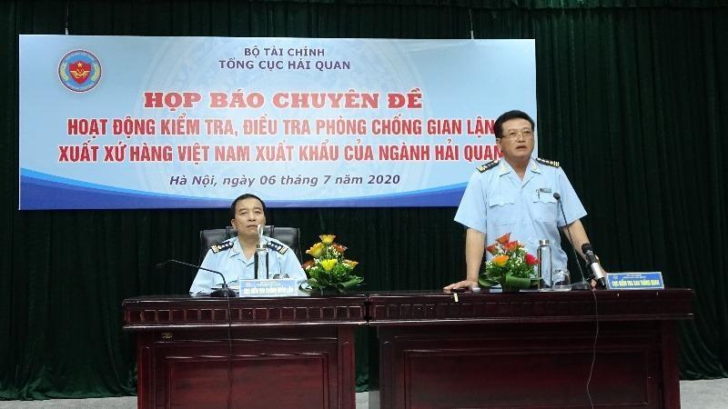 Cục trưởng Cục Kiểm tra sau thông quan Nguyễn Tiến Lộc