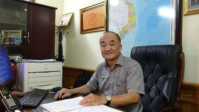 Bí thư Chi bộ, Cục trưởng Đặng Thanh Sơn.