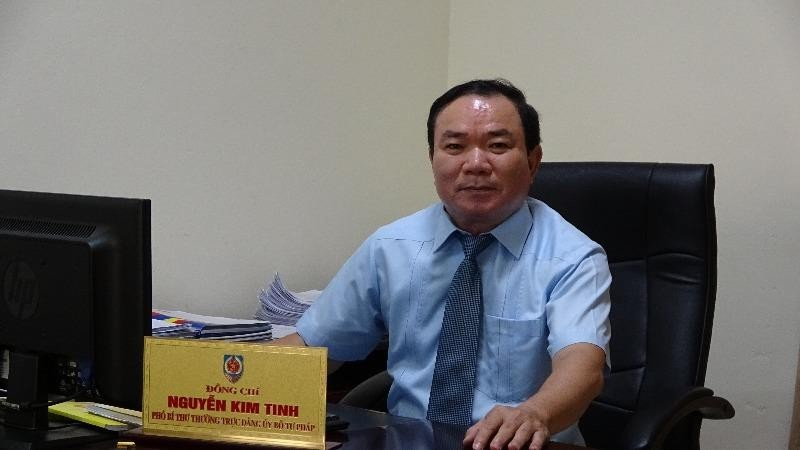 Phó Bí thư Thường trực Đảng ủy Bộ Tư pháp Nguyễn Kim Tinh: Công tác xây dựng đảng có nhiều chuyển biến tích cực, chất lượng, hiệu quả