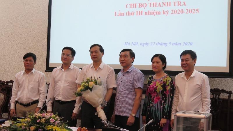 Chi ủy Thanh tra Bộ nhiệm kỳ 2020 - 2015