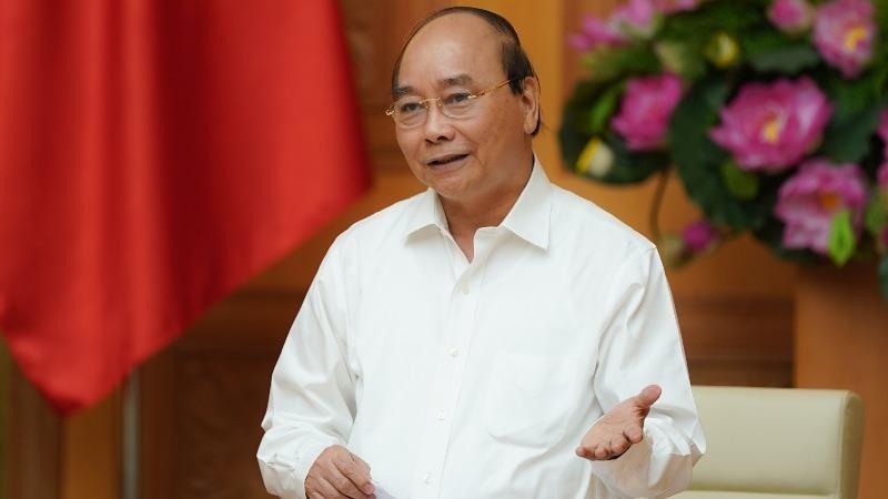Thủ tướng Nguyễn Xuân Phúc kết luận cuộc họp.