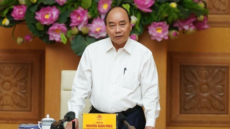 Thủ tướng Nguyễn Xuân Phúc phát biểu tại cuộc họp Hội đồng Thi đua-Khen thưởng Trung ương.