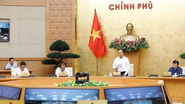 Thủ tướng Nguyễn Xuân Phúc chủ trì cuộc họp Thường trực Chính phủ ngày 29/7.