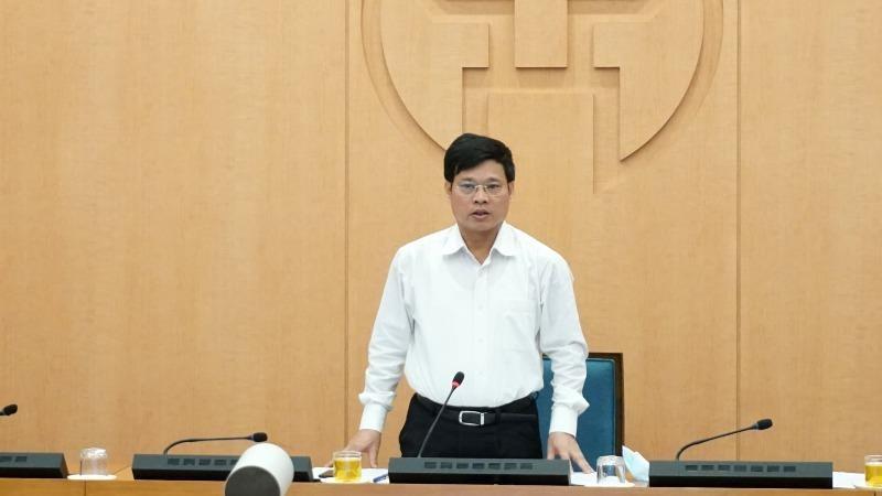 Phó Chủ tịch UBND thành phố Ngô Văn Quý kết luận cuộc họp.