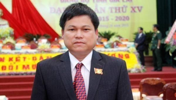 Đồng chí Nguyễn Văn Quân bị kỷ luật cảnh cáo. (Ảnh: Tỉnh ủy Gia Lai)