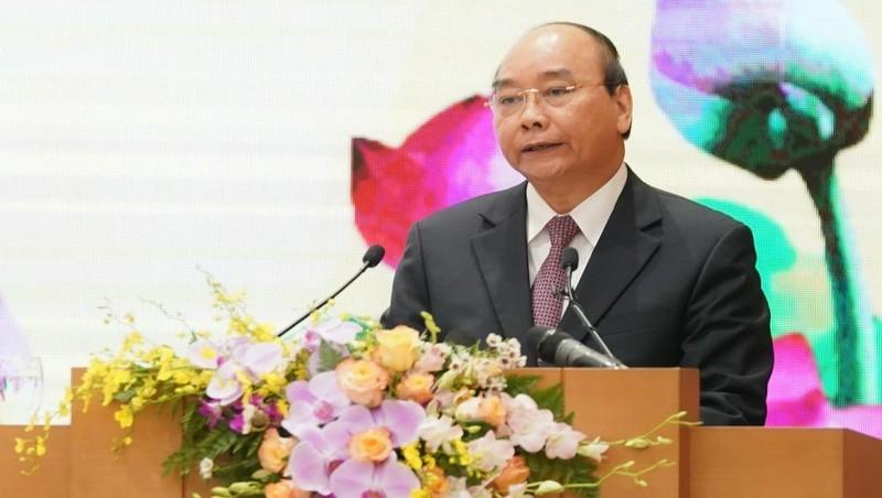 Thủ tướng Chính phủ Nguyễn Xuân Phúc đánh giá cao cố gắng của VPCP trong những năm qua.