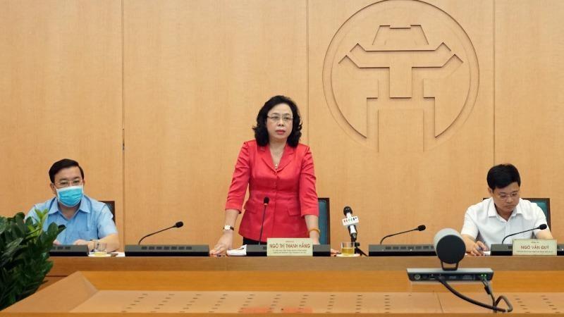 Phó Bí thư Thường trực Thành ủy Hà Nội phát biểu chỉ đạo Hội nghị.
