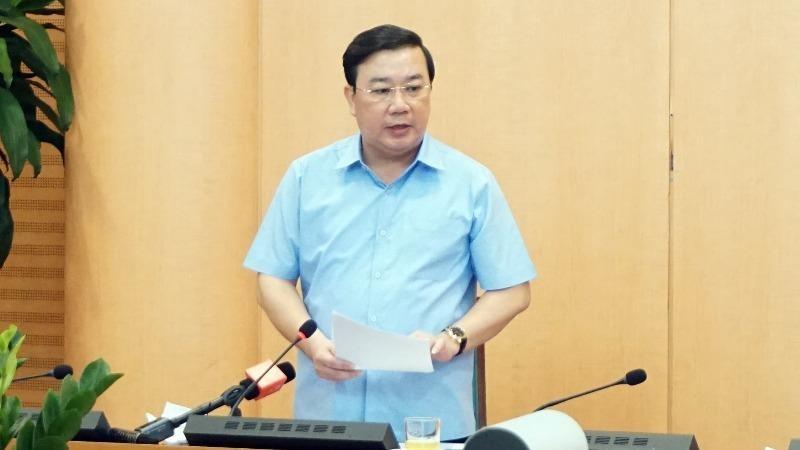 Giám đốc Sở Giáo dục và Đào tạo Hà Nội Chử Xuân Dũng.