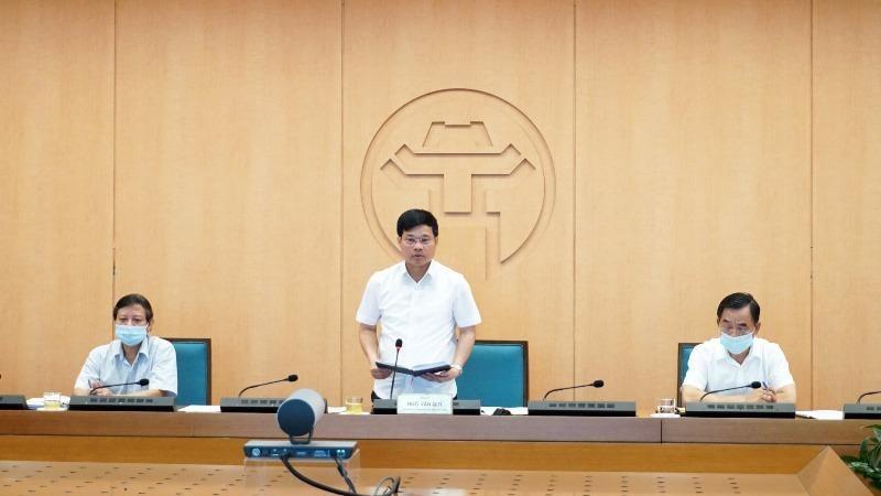 Phó Chủ tịch UBND TP Hà Nội Ngô Văn Quý kết luận phiên họp chiều 28/8.