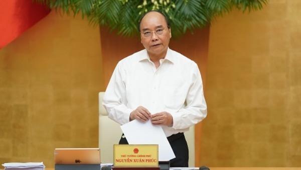 Thủ tướng Nguyễn Xuân Phúc kết luận phiên họp thường kỳ tháng 8/2020.