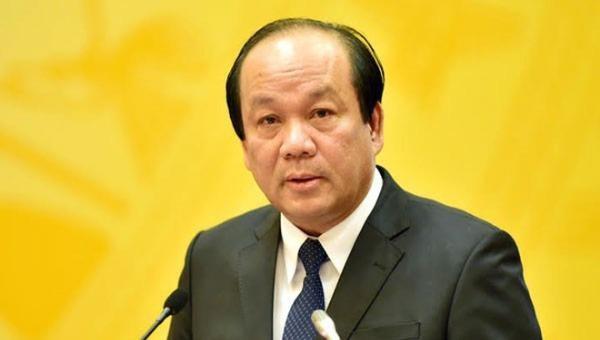 Bộ trưởng, Chủ nhiệm Văn phòng Chính phủ Mai Tiến Dũng.