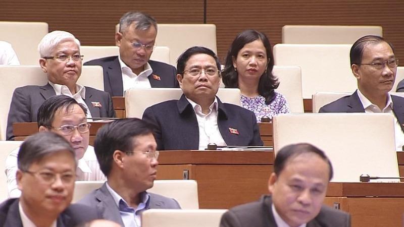 Các đại biểu dự phiên thảo luận ngày 29/3.
