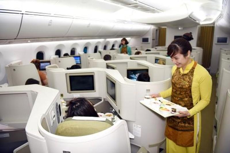 """Khách hàng sẽ có thêm nhiều trải nghiệm cực """"chất"""" ở khoang Thương gia trên các chuyến bay của Vietnam Airlines"""