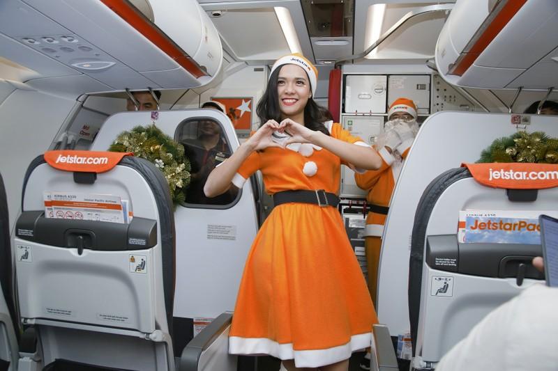 Lễ hội Giáng sinh trên những hành trình bay...