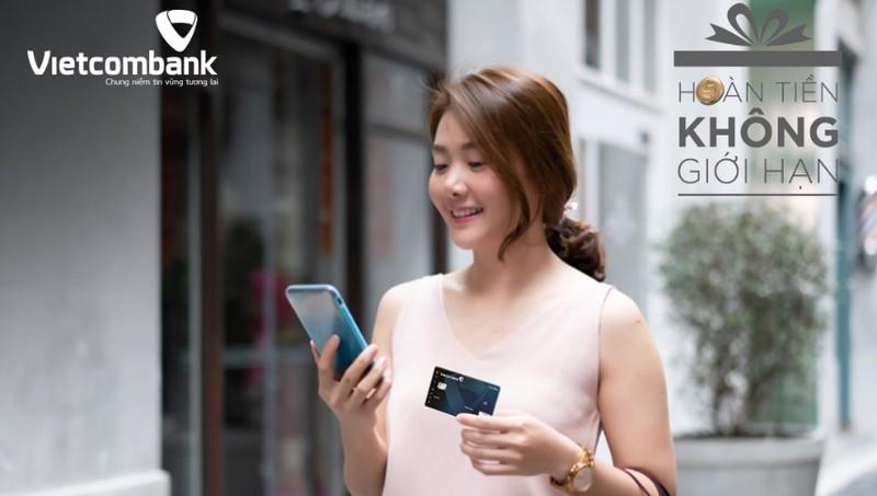 Với nhiều ưu đãi, thẻ tín dụng của Vietcombank đang được đánh giá là loại thẻ hoàn tiền tốt nhất thị trường