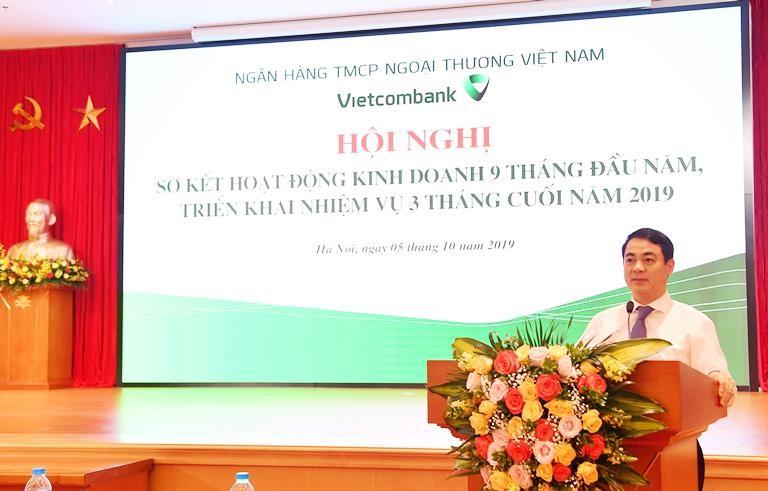 Vietcombank hoàn thành xuất sắc nhiều chỉ tiêu 9 tháng năm 2019