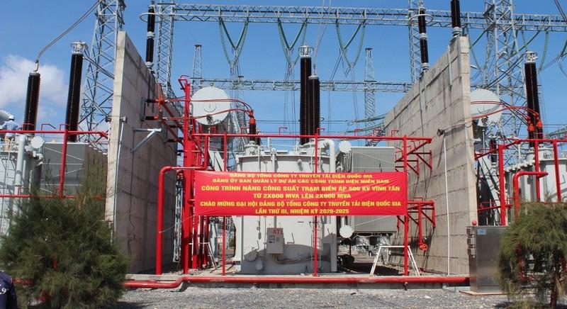 Thêm một công trình chào mừng Đại hội Đảng bộ Tổng công ty Truyền tải điện Quốc gia