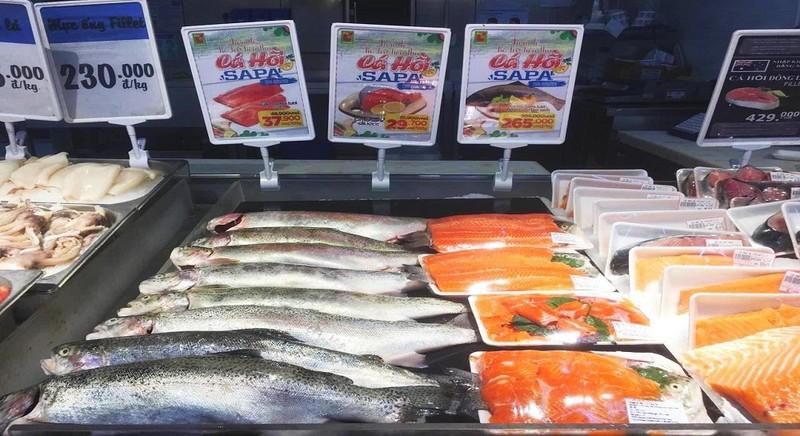 Big C tổ chức Tuần lễ cá hồi Sapa
